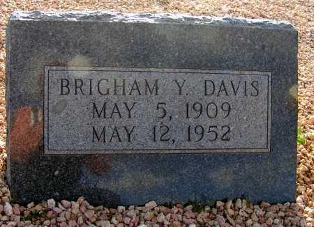 DAVIS, BRIGHAM Y. - Apache County, Arizona | BRIGHAM Y. DAVIS - Arizona Gravestone Photos