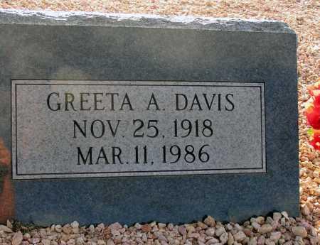 ANDERSON DAVIS, GREETA - Apache County, Arizona | GREETA ANDERSON DAVIS - Arizona Gravestone Photos