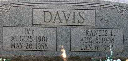 DAVIS, IVY - Apache County, Arizona | IVY DAVIS - Arizona Gravestone Photos