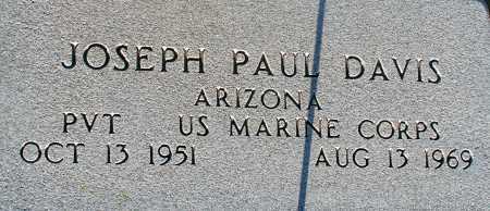 DAVIS, JOSEPH PAUL - Apache County, Arizona   JOSEPH PAUL DAVIS - Arizona Gravestone Photos