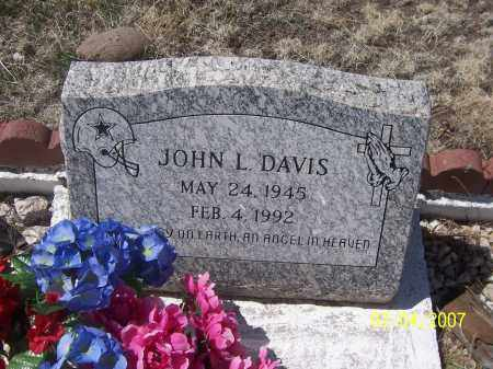 DAVIS, JOHN L. - Apache County, Arizona | JOHN L. DAVIS - Arizona Gravestone Photos