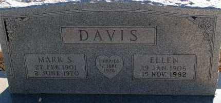 DAVIS, ELLEN - Apache County, Arizona | ELLEN DAVIS - Arizona Gravestone Photos