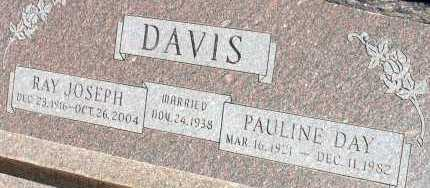 DAVIS, PAULINE DAY - Apache County, Arizona | PAULINE DAY DAVIS - Arizona Gravestone Photos