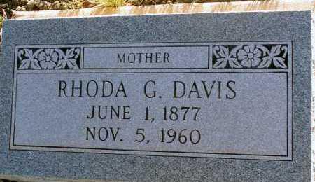DAVIS, RHODA G. - Apache County, Arizona | RHODA G. DAVIS - Arizona Gravestone Photos