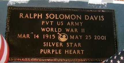 DAVIS, RALPH SOLOMON - Apache County, Arizona | RALPH SOLOMON DAVIS - Arizona Gravestone Photos