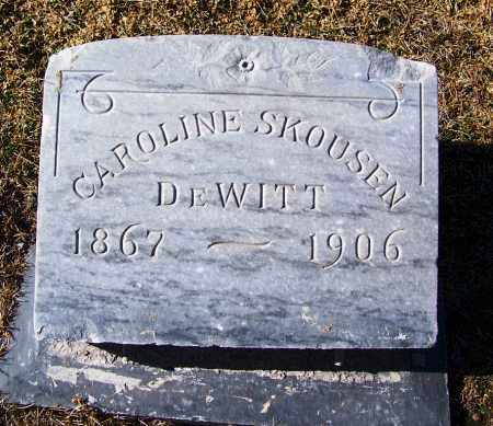 DEWITT, CAROLINE - Apache County, Arizona | CAROLINE DEWITT - Arizona Gravestone Photos