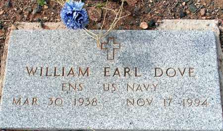 DOVE, WILLIAM EARL - Apache County, Arizona | WILLIAM EARL DOVE - Arizona Gravestone Photos