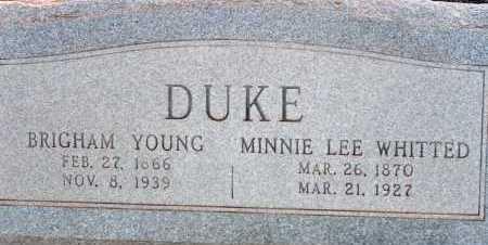 DUKE, MINNIE LEE - Apache County, Arizona | MINNIE LEE DUKE - Arizona Gravestone Photos