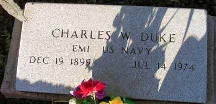 DUKE, CHARLES W. - Apache County, Arizona | CHARLES W. DUKE - Arizona Gravestone Photos
