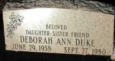 DUKE, DEBORAH ANN - Apache County, Arizona | DEBORAH ANN DUKE - Arizona Gravestone Photos