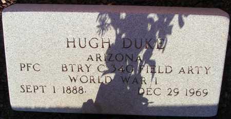 DUKE, HUGH - Apache County, Arizona | HUGH DUKE - Arizona Gravestone Photos
