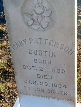 DUSTIN, MARY - Apache County, Arizona | MARY DUSTIN - Arizona Gravestone Photos
