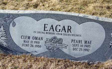 EAGAR, CLEM OMAN - Apache County, Arizona | CLEM OMAN EAGAR - Arizona Gravestone Photos