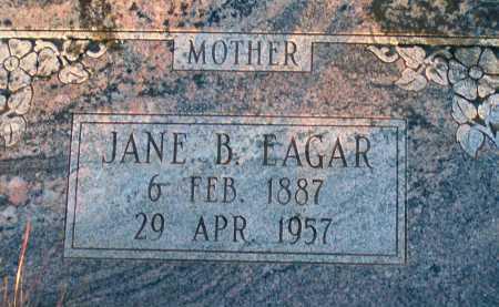 EAGAR, JANE B. - Apache County, Arizona   JANE B. EAGAR - Arizona Gravestone Photos