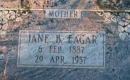 EAGAR, JANE B. - Apache County, Arizona | JANE B. EAGAR - Arizona Gravestone Photos