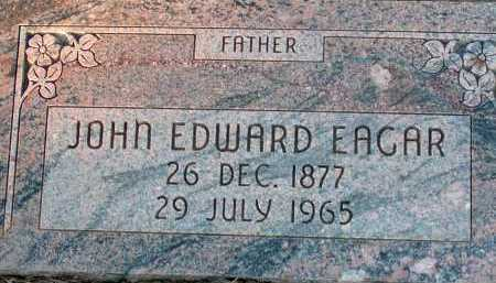 EAGAR, JOHN EDWARD - Apache County, Arizona | JOHN EDWARD EAGAR - Arizona Gravestone Photos