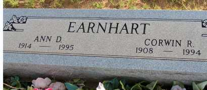 EARNHART, CORWIN R. - Apache County, Arizona | CORWIN R. EARNHART - Arizona Gravestone Photos