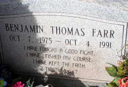 FARR, BENJAMIN THOMAS - Apache County, Arizona   BENJAMIN THOMAS FARR - Arizona Gravestone Photos