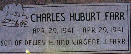 FARR, CHARLES HUBURT - Apache County, Arizona   CHARLES HUBURT FARR - Arizona Gravestone Photos