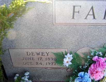 FARR, DEWEY - Apache County, Arizona | DEWEY FARR - Arizona Gravestone Photos