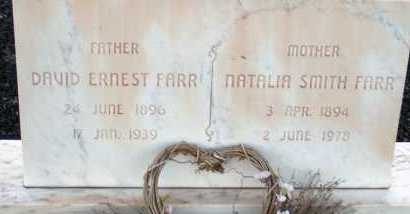 FARR, DAVID ERNEST - Apache County, Arizona | DAVID ERNEST FARR - Arizona Gravestone Photos