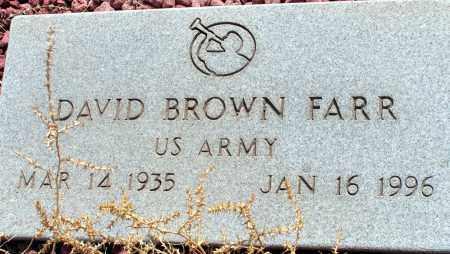 FARR, DAVID BROWN - Apache County, Arizona | DAVID BROWN FARR - Arizona Gravestone Photos