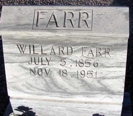 FARR, WILLARD - Apache County, Arizona | WILLARD FARR - Arizona Gravestone Photos