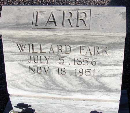 FARR, WILLARD - Apache County, Arizona | WILLARD FARR - Arizona Gravestone Photos