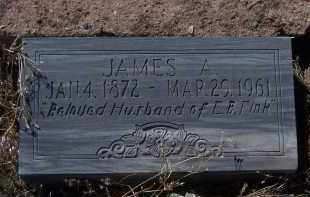 FINK, JAMES A. - Apache County, Arizona | JAMES A. FINK - Arizona Gravestone Photos