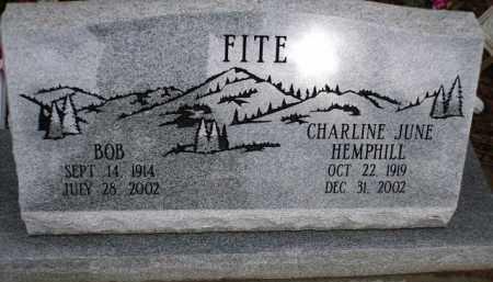 FITE, BOB - Apache County, Arizona | BOB FITE - Arizona Gravestone Photos