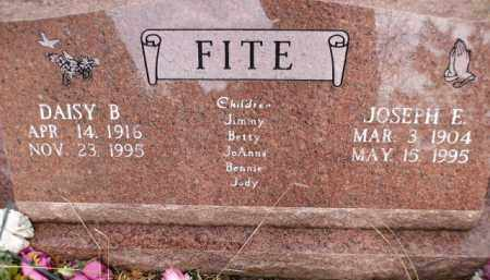 FITE, JOSEPH E. - Apache County, Arizona | JOSEPH E. FITE - Arizona Gravestone Photos