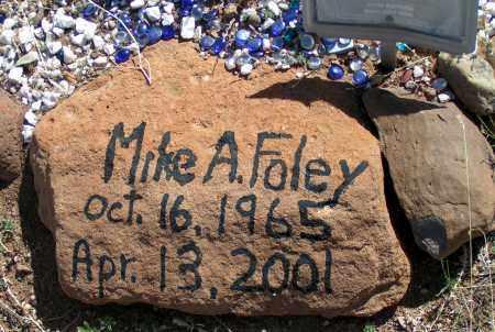 FOLEY, MIKE A. - Apache County, Arizona | MIKE A. FOLEY - Arizona Gravestone Photos