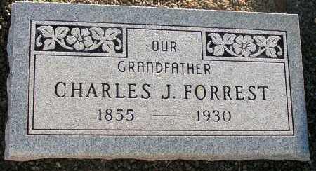FORREST, CHARLES J. - Apache County, Arizona   CHARLES J. FORREST - Arizona Gravestone Photos