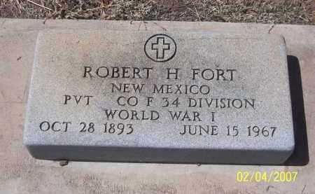 FORT, ROBERT H. - Apache County, Arizona | ROBERT H. FORT - Arizona Gravestone Photos
