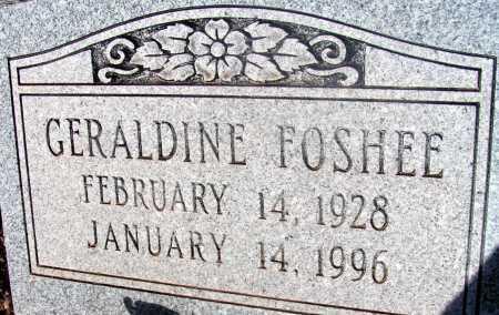 FOSHEE, GERALDINE - Apache County, Arizona | GERALDINE FOSHEE - Arizona Gravestone Photos