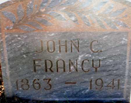 FRANCY, JOHN C. - Apache County, Arizona | JOHN C. FRANCY - Arizona Gravestone Photos