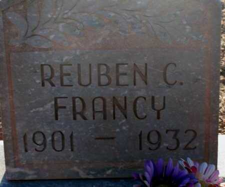 FRANCY, REUBEN C. - Apache County, Arizona | REUBEN C. FRANCY - Arizona Gravestone Photos