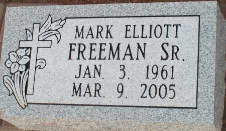 FREEMAN, MARK ELLIOTT, SR. - Apache County, Arizona | MARK ELLIOTT, SR. FREEMAN - Arizona Gravestone Photos