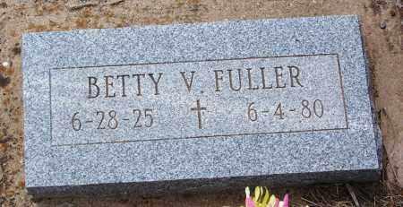 FULLER, BETTY V - Apache County, Arizona | BETTY V FULLER - Arizona Gravestone Photos
