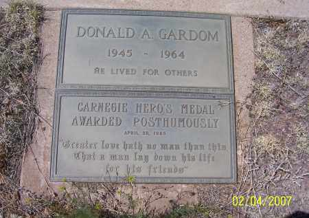 GARDOM, DONALD A. - Apache County, Arizona | DONALD A. GARDOM - Arizona Gravestone Photos