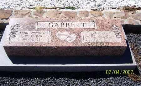 GARRETT, VERDA - Apache County, Arizona | VERDA GARRETT - Arizona Gravestone Photos