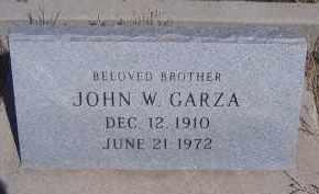 GARZA, JOHN W. - Apache County, Arizona | JOHN W. GARZA - Arizona Gravestone Photos