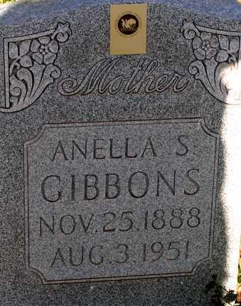GIBBONS, ANELLA S. - Apache County, Arizona | ANELLA S. GIBBONS - Arizona Gravestone Photos