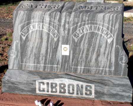 GIBBONS, RIZPAH - Apache County, Arizona | RIZPAH GIBBONS - Arizona Gravestone Photos