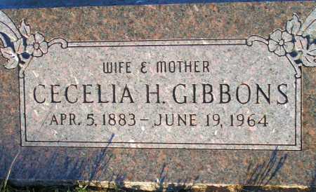 GIBBONS, CECELIA H. - Apache County, Arizona | CECELIA H. GIBBONS - Arizona Gravestone Photos