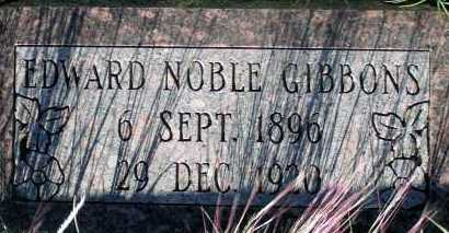 GIBBONS, EDWARD NOBLE - Apache County, Arizona | EDWARD NOBLE GIBBONS - Arizona Gravestone Photos