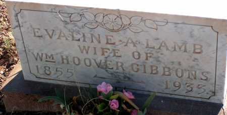 LAMB GIBBONS, EVALINE A. - Apache County, Arizona | EVALINE A. LAMB GIBBONS - Arizona Gravestone Photos