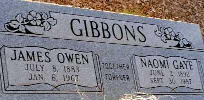 GIBBONS, NAOMI GAYE - Apache County, Arizona   NAOMI GAYE GIBBONS - Arizona Gravestone Photos