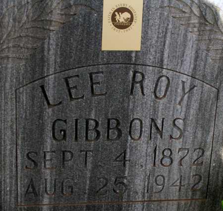 GIBBONS, LEE ROY - Apache County, Arizona   LEE ROY GIBBONS - Arizona Gravestone Photos