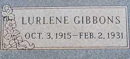 GIBBONS, LURLENE - Apache County, Arizona | LURLENE GIBBONS - Arizona Gravestone Photos